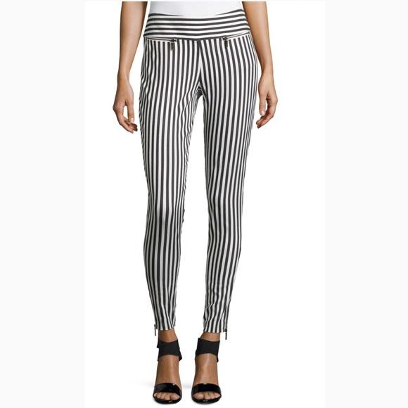slim fit trousers - Brown Nicole Miller 3hwBP